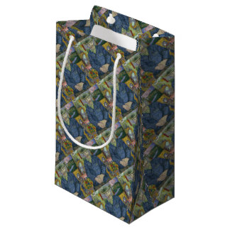 Vincent Van Gogh - Portrait of Pere Tanguy Small Gift Bag
