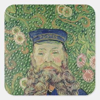Vincent van Gogh | Portrait of the Postman Square Sticker