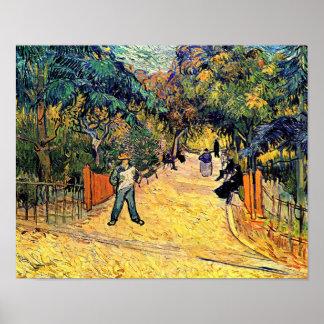 Vincent Van Gogh - Public Park in Arles Fine Art Poster