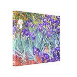 Vincent Van Gogh Purple Irises Fine Art Stretched Canvas Print