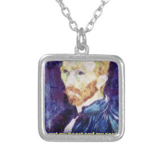Vincent van Gogh - Quote Necklace