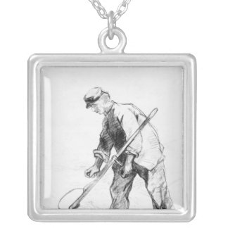 Vincent van Gogh | Reaper Silver Plated Necklace