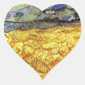 Vincent Van Gogh Reaper Sticker