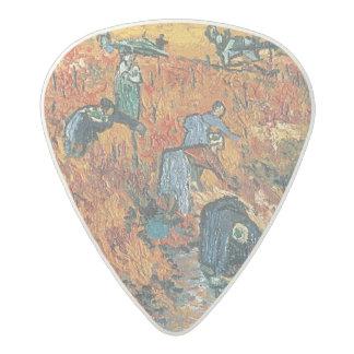 Vincent van Gogh | Red Vineyards at Arles, 1888 Acetal Guitar Pick