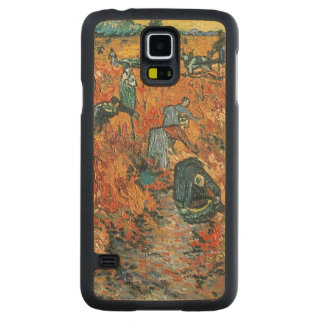 Vincent van Gogh | Red Vineyards at Arles, 1888 Carved Maple Galaxy S5 Case