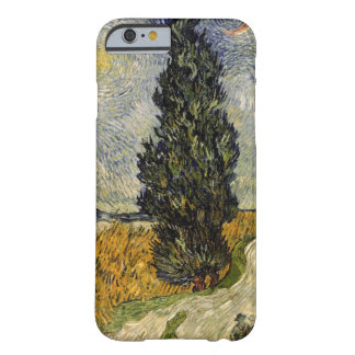 Vincent van Gogh | Road with Cypresses, 1890 Barely There iPhone 6 Case