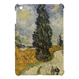 Vincent van Gogh | Road with Cypresses, 1890 Case For The iPad Mini