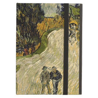 Vincent van Gogh | Road with Cypresses, 1890 Cover For iPad Air