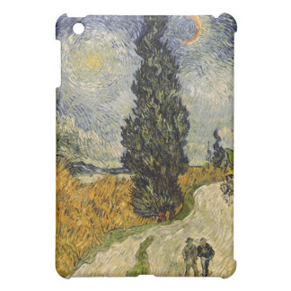 Vincent van Gogh | Road with Cypresses, 1890 iPad Mini Case