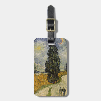 Vincent van Gogh | Road with Cypresses, 1890 Luggage Tag