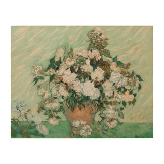Vincent van Gogh | Roses, 1890 Wood Print