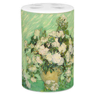 Vincent Van Gogh Roses Bathroom Set