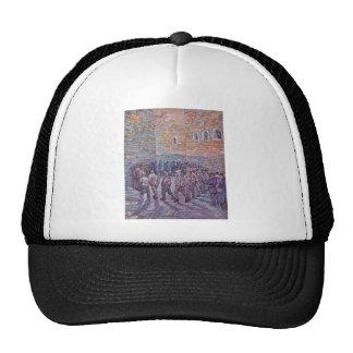 Vincent Van Gogh -  Round of Prisoners Cap