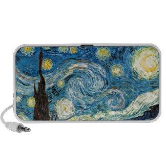 Vincent Van Gogh's Starry Night iPod Speakers