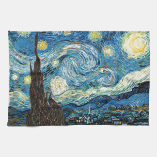 Vincent Van Gogh's Starry Night Tea Towel