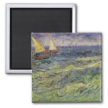 Vincent van Gogh | Seascape at Saintes-Maries Magnet