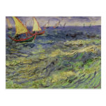 Vincent van Gogh | Seascape at Saintes-Maries Postcard
