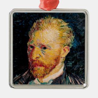 Vincent van Gogh   Self Portrait, 1887 Christmas Ornament