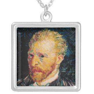 Vincent van Gogh | Self Portrait, 1887 Silver Plated Necklace
