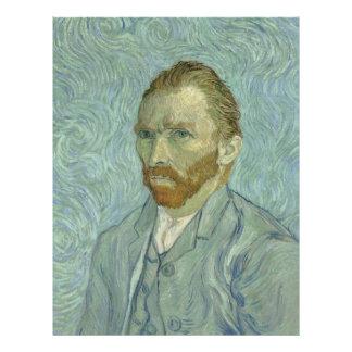Vincent Van Gogh Self-Portrait 1889 Custom Flyer