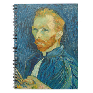Vincent van Gogh | Self Portrait, 1889 Notebooks