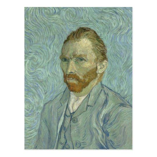 Vincent Van Gogh Self-Portrait 1889 Postcard