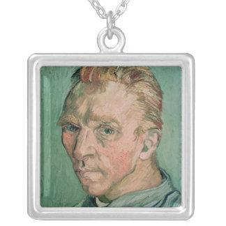 Vincent van Gogh | Self Portrait, 1889 Silver Plated Necklace