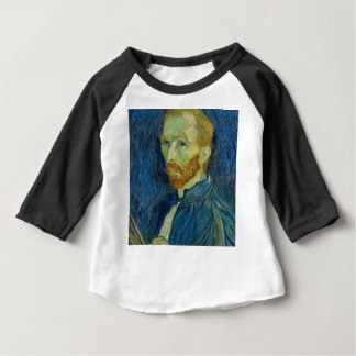 Vincent Van Gogh Self Portrait Art Work Baby T-Shirt