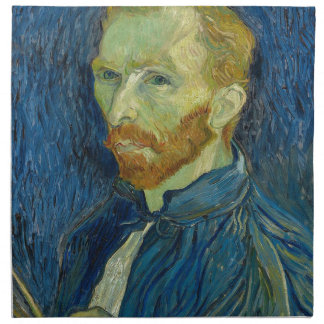Vincent Van Gogh Self Portrait Art Work Napkin