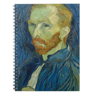 Vincent Van Gogh Self Portrait Art Work Notebook