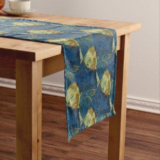 Vincent Van Gogh Self Portrait Art Work Short Table Runner