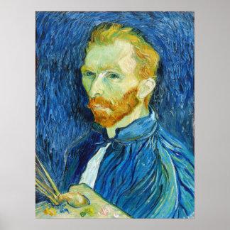 Vincent van Gogh: Self Portrait (August 1889) Poster