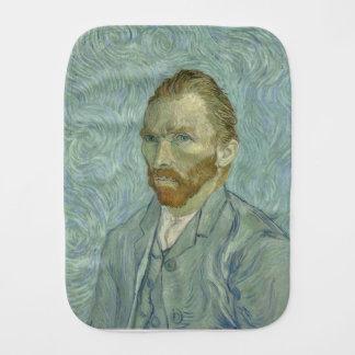 Vincent Van Gogh Self Portrait Classic Art work Burp Cloth