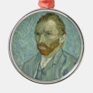 Vincent Van Gogh Self Portrait Classic Art work Christmas Ornament