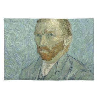Vincent Van Gogh Self Portrait Classic Art work Placemat