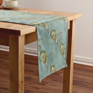 Vincent Van Gogh Self Portrait Classic Art work Short Table Runner