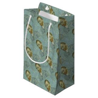 Vincent Van Gogh Self Portrait Classic Art work Small Gift Bag