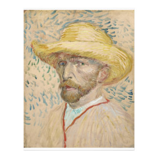 Vincent van Gogh - Self-portrait Custom Flyer
