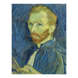 Vincent van Gogh Self-Portrait(F626)Fine Art 21.5 Cm X 28 Cm Flyer