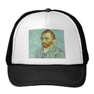 Vincent Van Gogh Self Portrait Fine Art Painting Cap