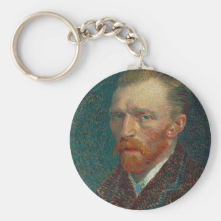 Vincent Van Gogh - Self Portrait Painting Key Ring
