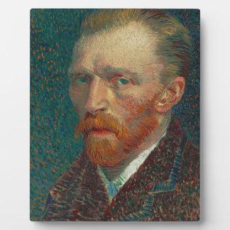 Vincent Van Gogh - Self Portrait Painting Plaque