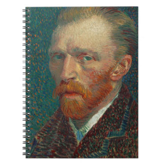 Vincent Van Gogh - Self Portrait Painting Spiral Notebook