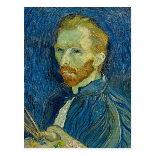 Vincent van Gogh Self-Portrait Postcards