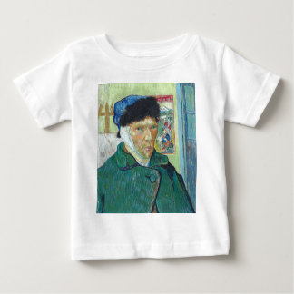Vincent Van Gogh Self Portrait with Bandaged Ear Baby T-Shirt