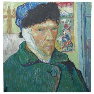 Vincent Van Gogh Self Portrait with Bandaged Ear Napkin