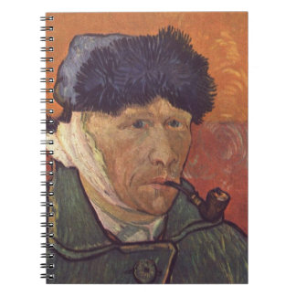 Vincent Van Gogh  -Self Portrait with Bandaged Ear Notebook