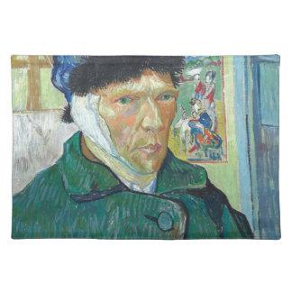 Vincent Van Gogh Self Portrait with Bandaged Ear Placemat