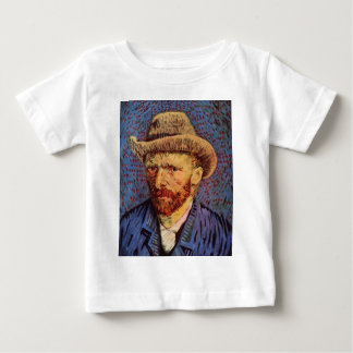 Vincent van Gogh - Self-Portrait with Felt Hat Baby T-Shirt