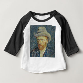 Vincent Van Gogh Self Portrait with Grey Felt Hat Baby T-Shirt